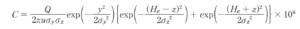正規型プルーム式