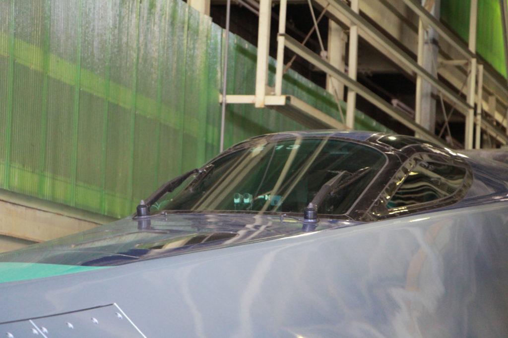 ALFA-X運転席2